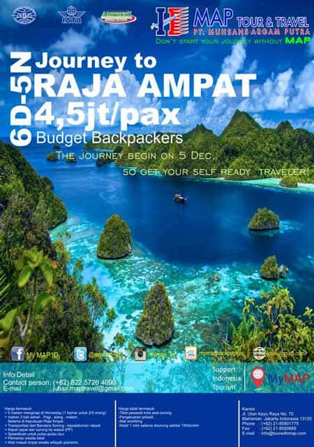 semakin banyak bermunculan kawasan wisata gres diseluruh dunia dan juga di Indonesia 20 Contoh Desain Brosur Paket Wisata Untuk Inspirasi