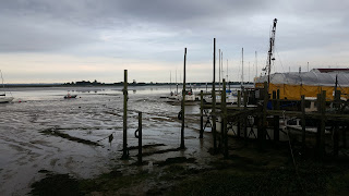 Heybridge basin Estuary - Essex