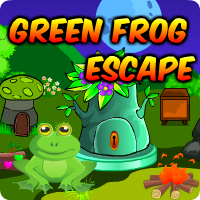 AvmGames Green Frog Escape Walkthrough