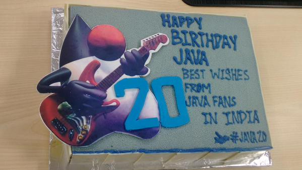 Happy birth day java