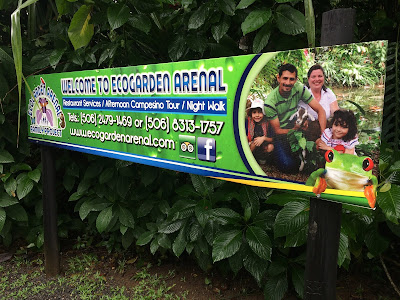 EcoGarden sign