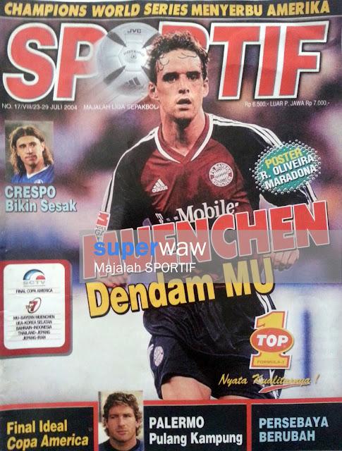 Majalah SPORTIF: MUENCHEN Dendam MU