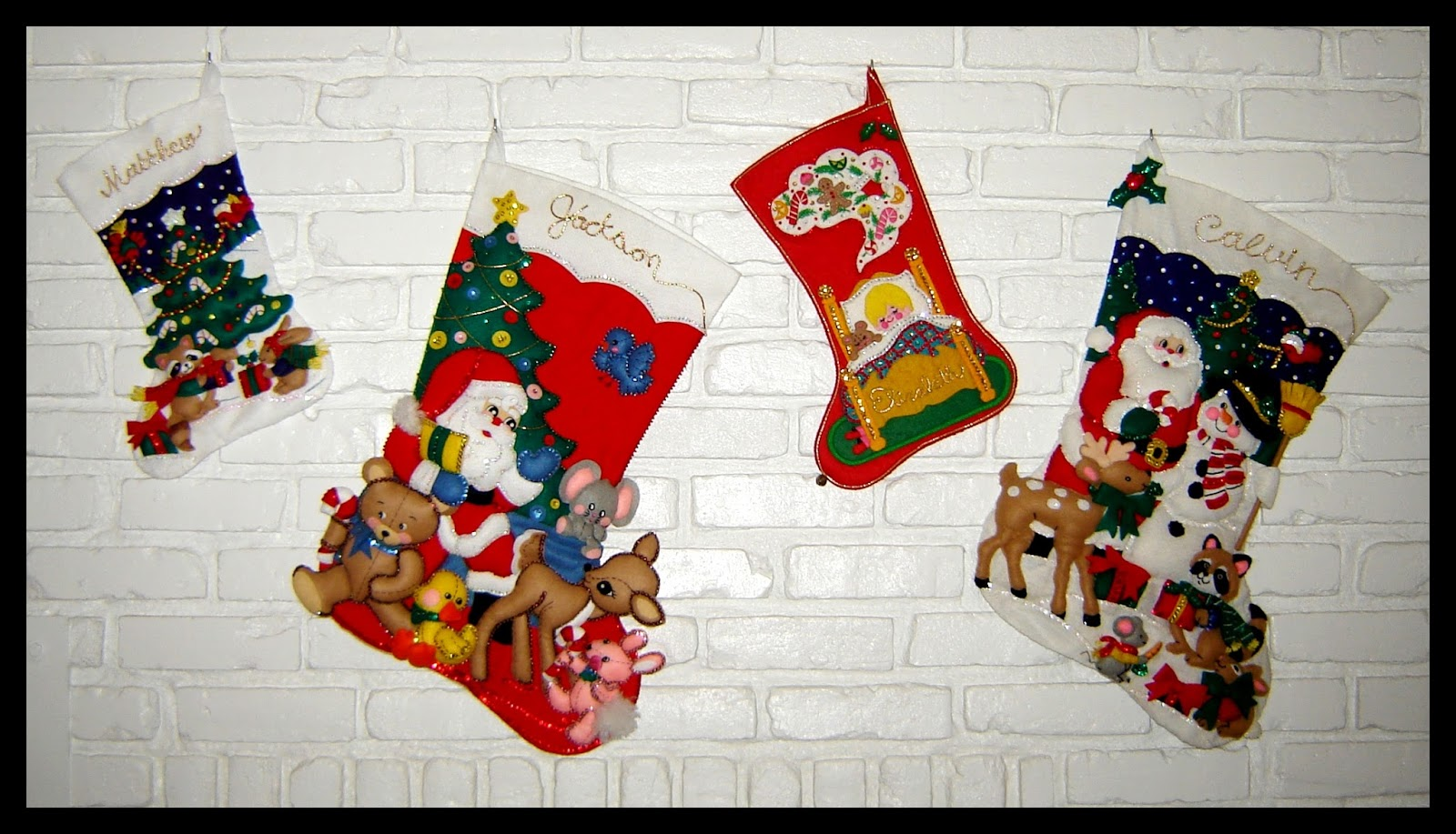 Bucilla Christmas Stockings
