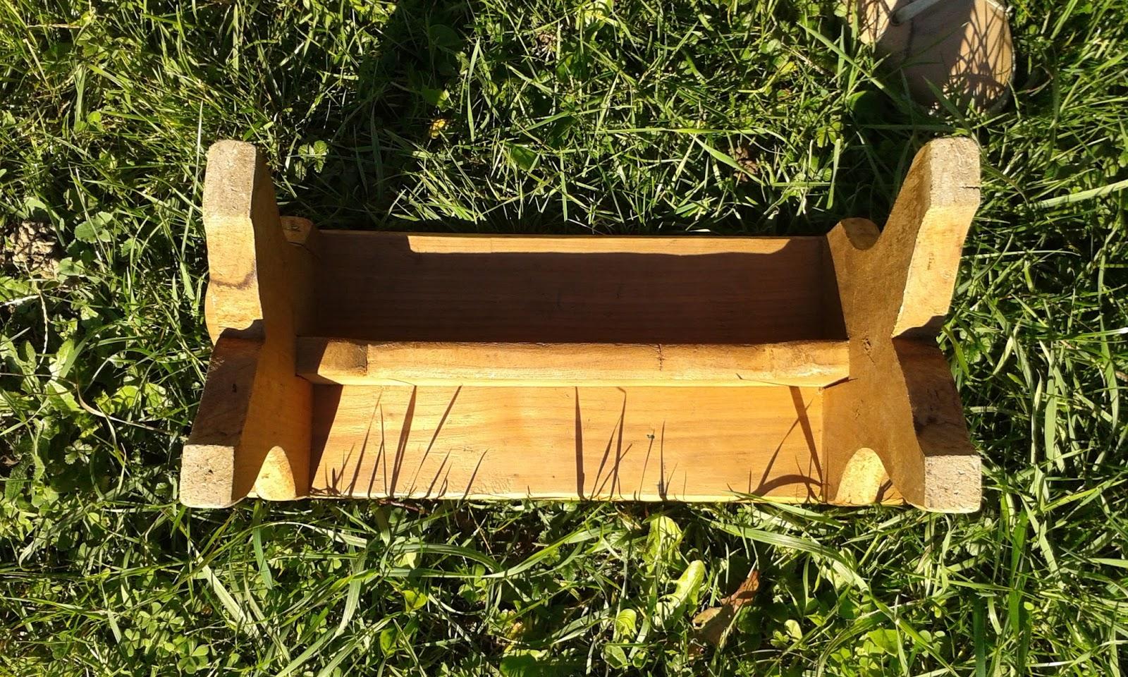 repose pied petit banc enfant en bois les enfants de la brocante. Black Bedroom Furniture Sets. Home Design Ideas