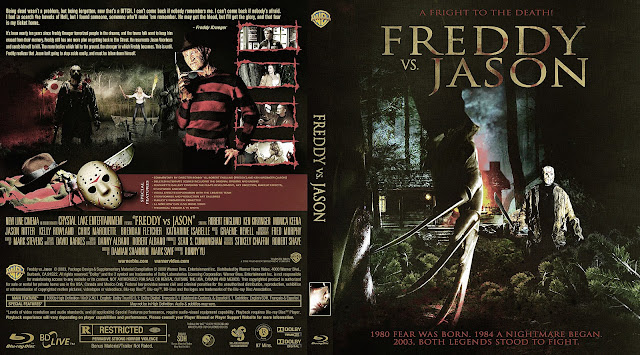 Freddy VS Jason Bluray Cover