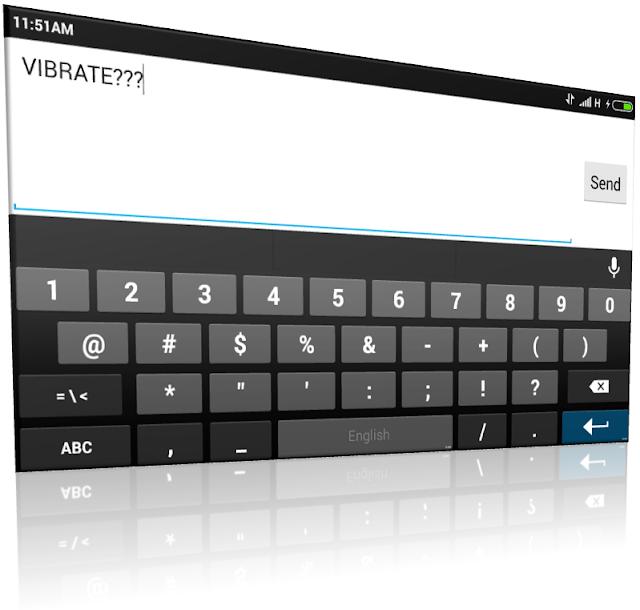 menonaktifkan atau mematikan efek getar atau vibrasi keyboard android