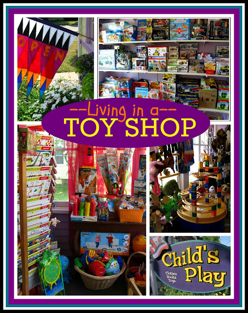 Living in a Toy Shop: Choosing toys for your child with love and attention