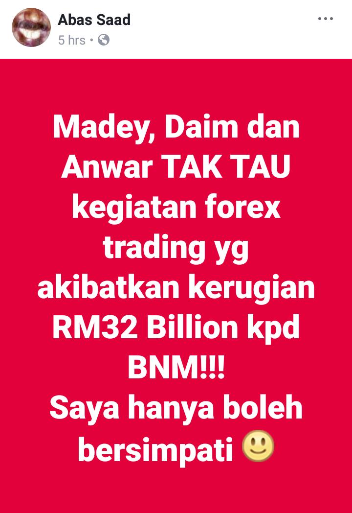 Bnm forex admin