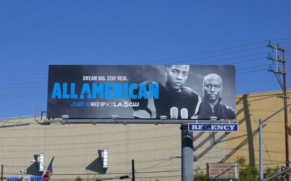 All American series launch billboard