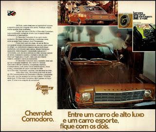 propaganda  Chevrolet Comodoro - 1975, 1975, GM anos 70, Chevrolet década de 70, carros Chevrolet anos 70, Oswaldo Hernandez, GM comodoro 75,