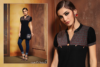 Kajree fashion Walker Denim tops wholesale