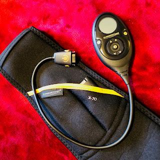 test, ceinture, shorty, slendertone, musculation, electro-stimulation, minceur, régime, folle blogueuse