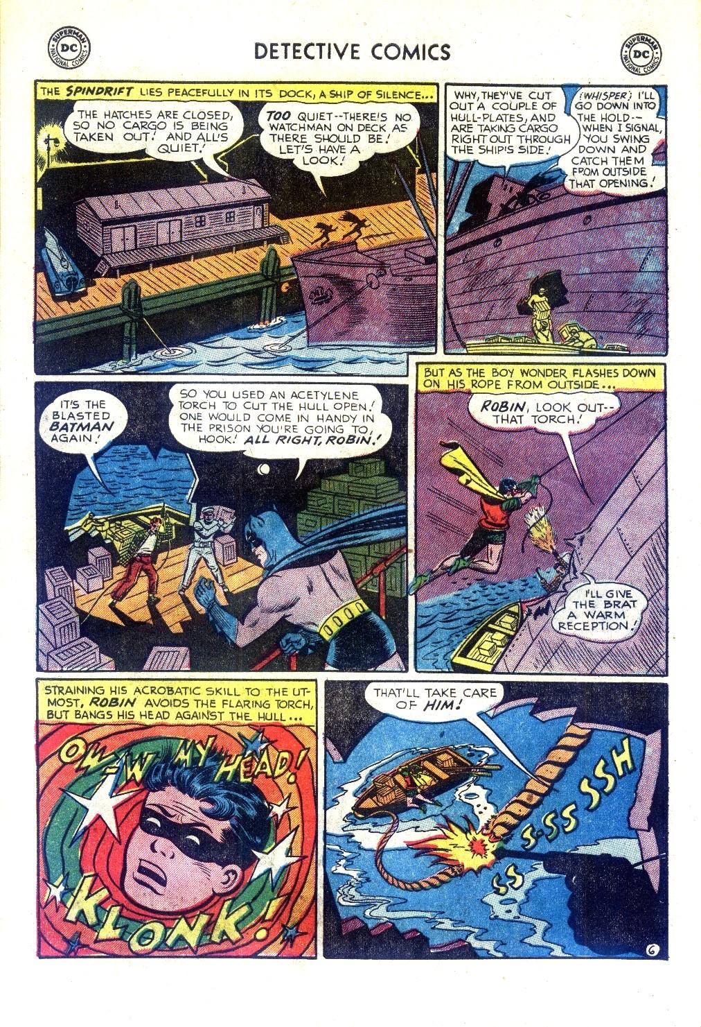 Read online Detective Comics (1937) comic -  Issue #188 - 8
