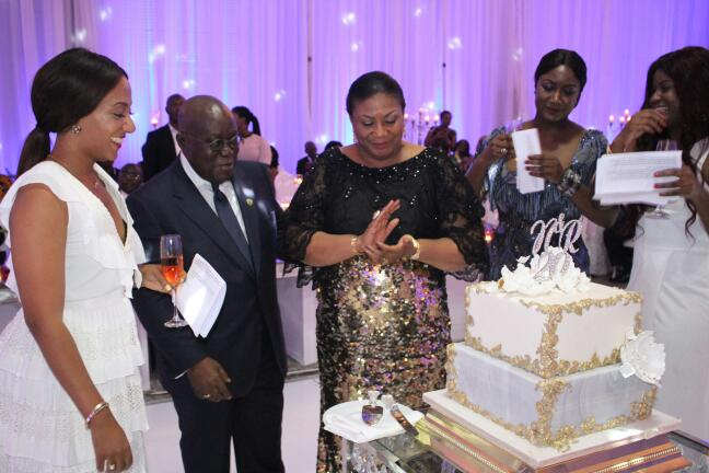 Photos from Akufo-Addo & the First Lady's 20th wedding anniversary celebrations