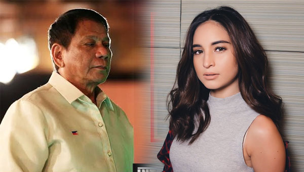 Coleen Garcia expresses admiration for President Duterte