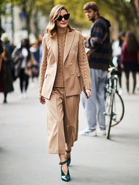 The Olivia Palermo Lookbook Olivia Palermo At Paris Fashion Week Ii