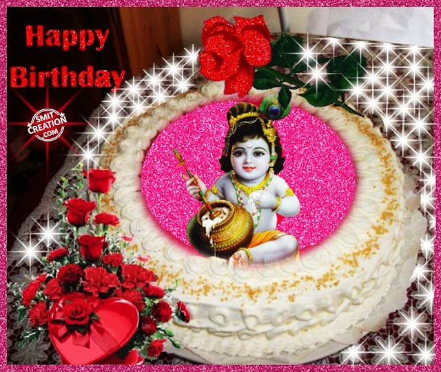 Happy Birthday Krishna Cake Download