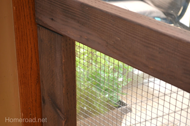 How to build your own stylish rustic dog fence that fits in any area www.homeroad.net