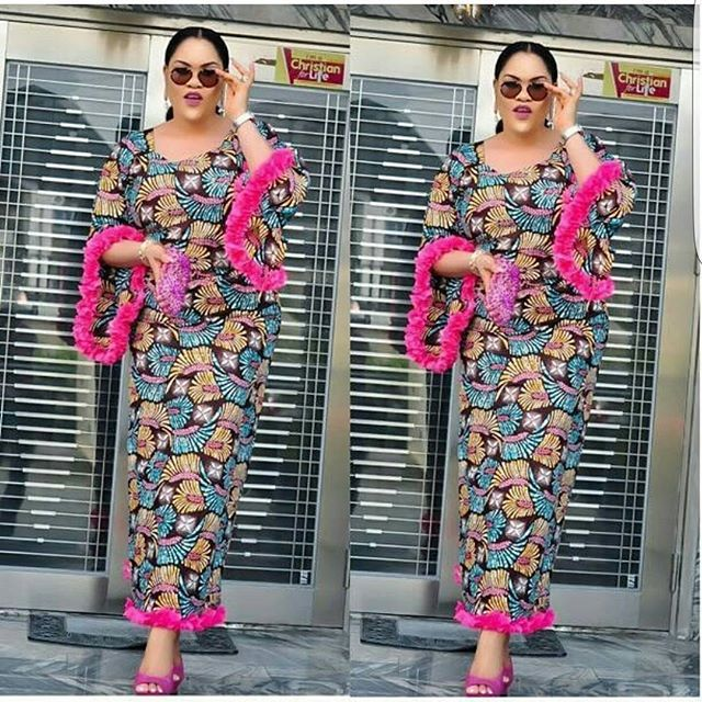 Beautiful Ankara Long Gown Styles for Lovely Ladies - Zaineey\'s Blog