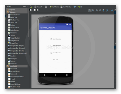 Android Studio - CheckBox