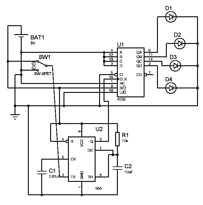 555 timer switch debouncing circuit timer