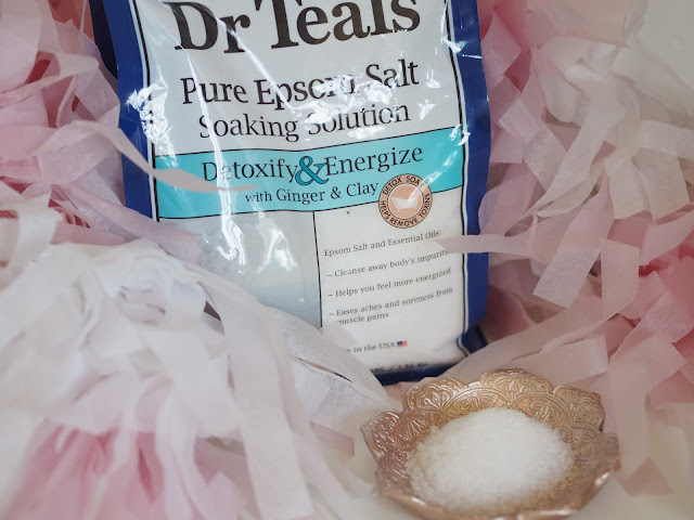 Dr Teals Detoxify & Energise Epsom Salts with Ginger & Clay