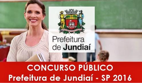 Apostila Concurso Prefeitura de Jundiaí 2016