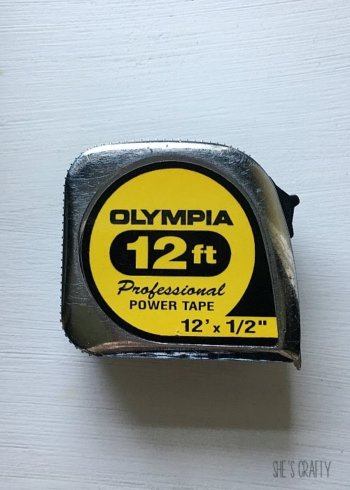 Things to take with you to the Nashville Flea Market - tape measure