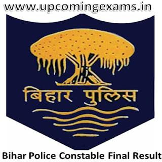Bihar Police Constable Result 2017-Declared