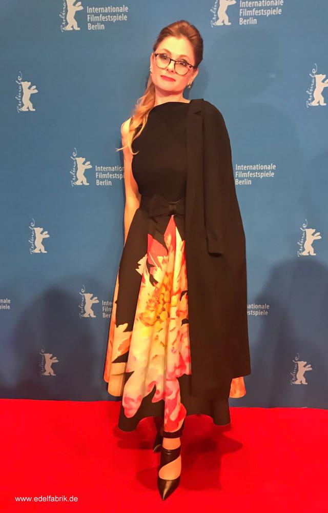 Berlinale 2017, Roter Teppich, Chrissie aus der Edelfabrik