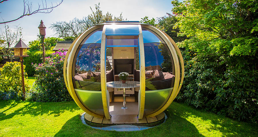 garden office pods. following on from last weeku0027s arrow studio further proof that a garden office does not need to be square ornate gardenu0027s pod range there are various pods
