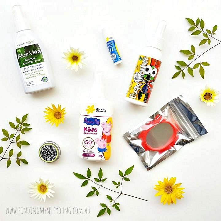 Little Minx Milestones Summer Wellness and Protection Survival Kit