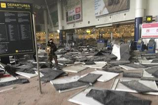Al menos 34 muertos y centenares de heridos por las explosiones en Bruselas
