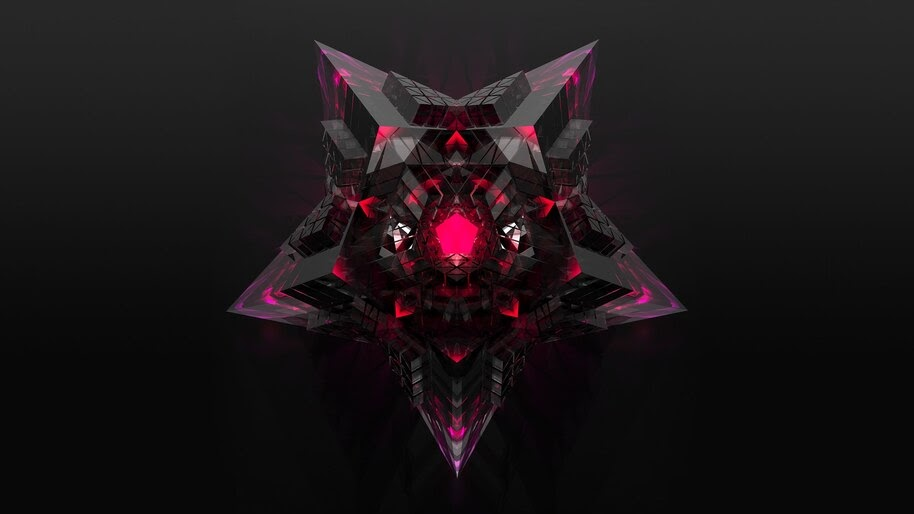 Star, Abstract, Digital Art, 4K, #4.2040