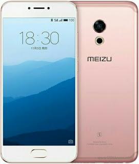 Meizu Pro 6s rose gold