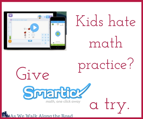 If your kids dislike math, give Smartick a try. Here's our review of Smartick.