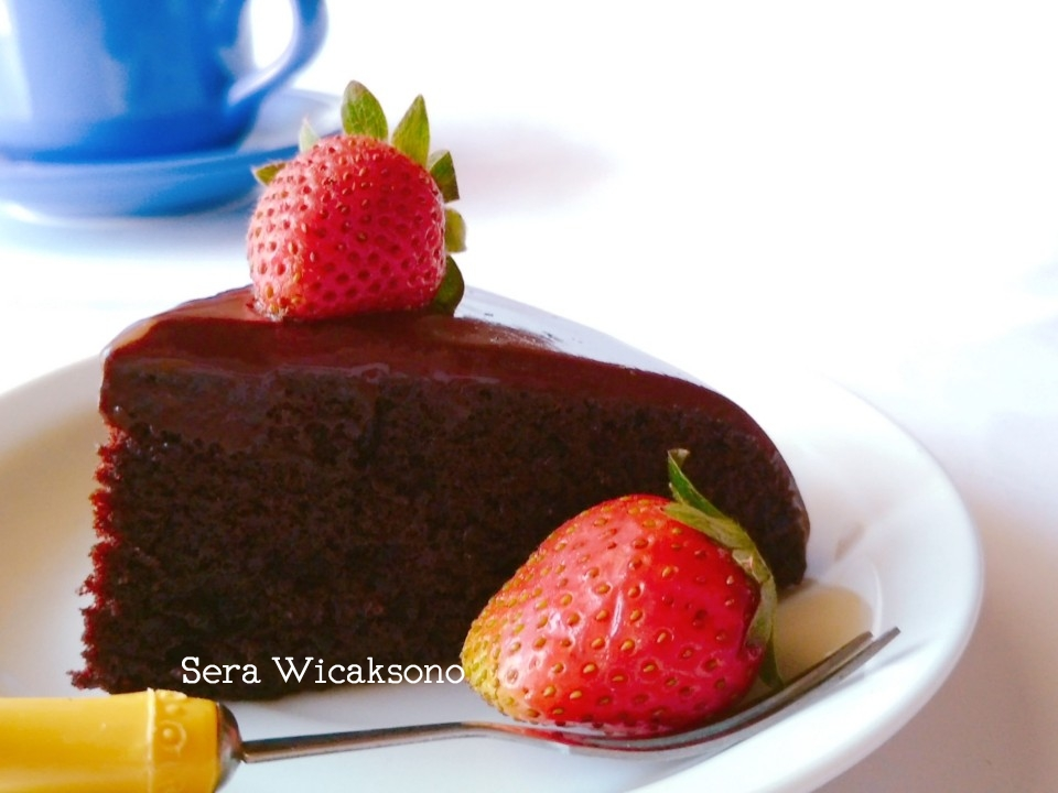 chocolate steamed cake