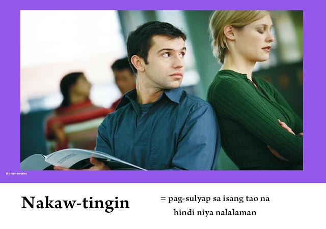 My Homeworks Tambalang Salita Nakaw Tingin