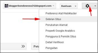 Cara Setting Target Geografis di Webmaster Tools Google
