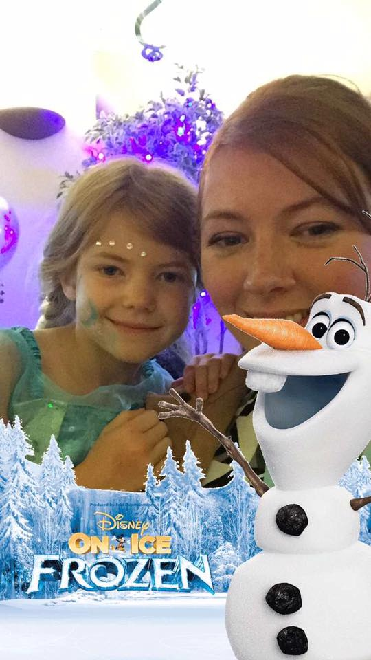 Disney On Ice presents Frozen - A spoiler free review from opening night at Newcastle's Metro Radio Arena - Frozen Snapchat Filter