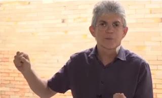 Ricardo grava vídeo para vigília da Frente Popular defendendo inocência de Lula; veja