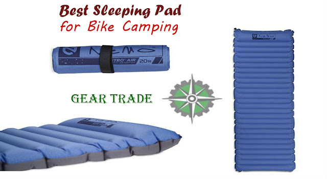 best sleeping pad for bike camping