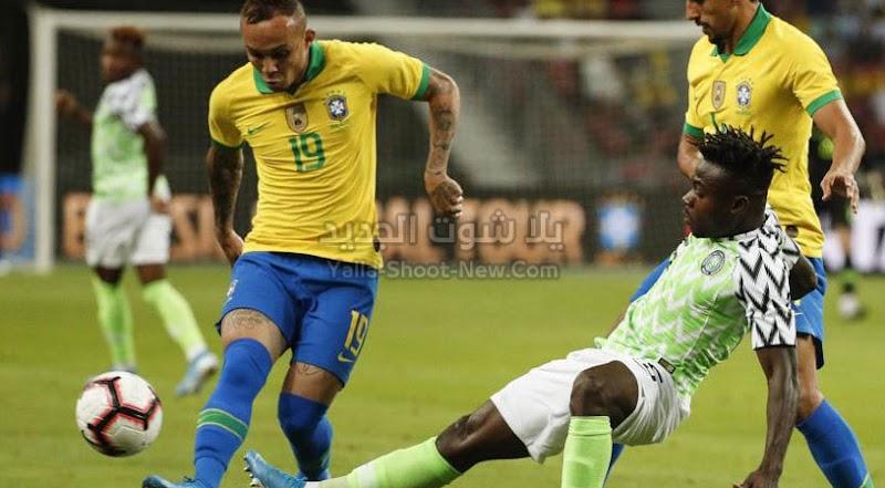 التعادل الثاني لمنتخب البرازيل في المباراة الودية امام منتخب نيجيريا بهدف لمثله