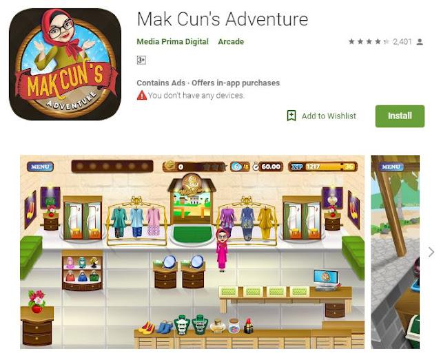 game mak cun's adventure
