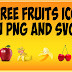 60 Free Fruits Icon In Png And Vector Art