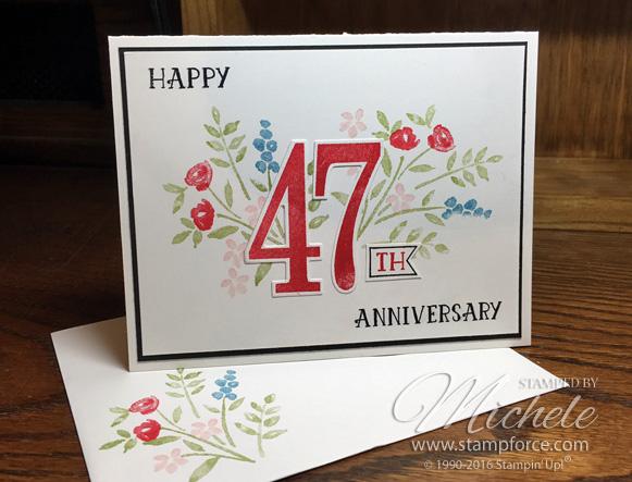 34th Wedding Anniversary Gifts: StampForce: Happy Anniversary, Mom & Dad