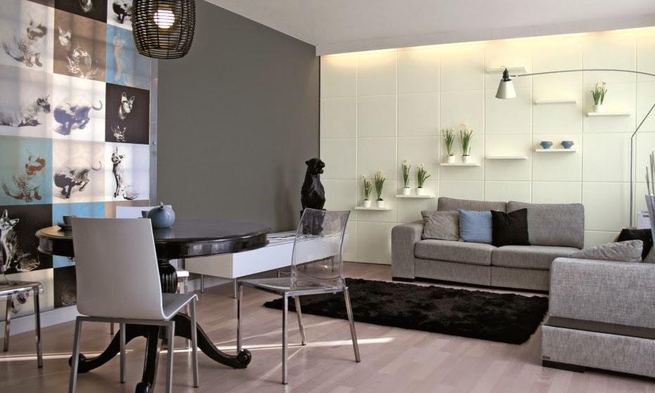 Pintura Para Salas Pequeñas : 10 ideas de decoración para salas en gris