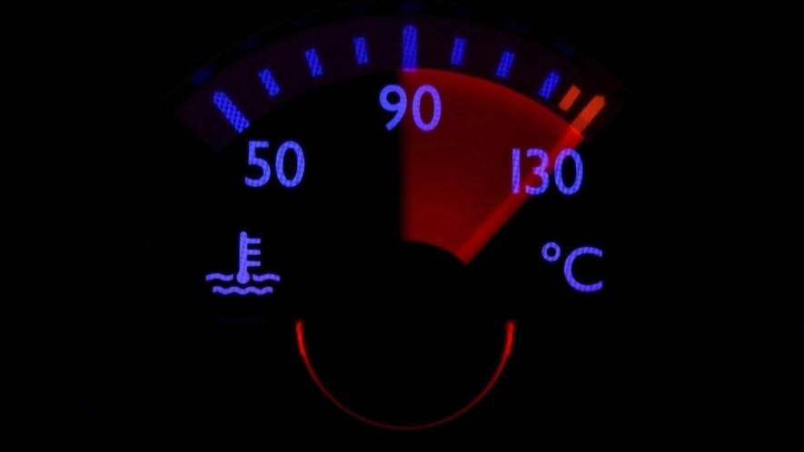نتيجة بحث الصور عن ارتفاع درجة حرارة المحرك بشكل زائد