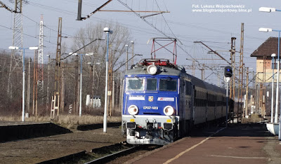 EP07-1013, PKP Intercity, Kędzierzyn-Koźle