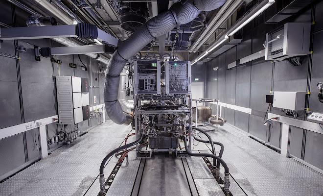 EV testing station